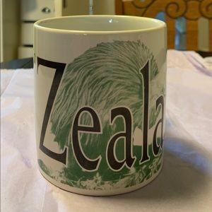 Vintage 1999 Starbucks New Zealand world mug!
